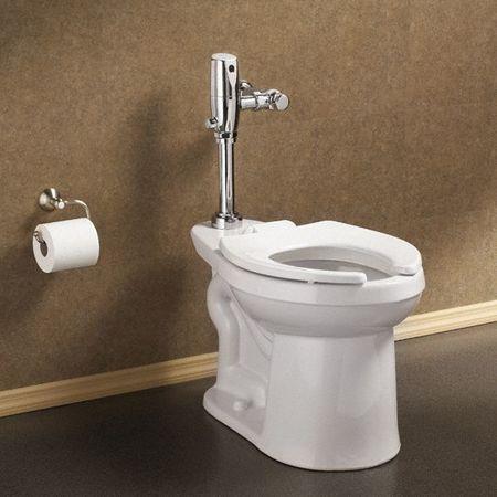 american standard automatic flush valve toilet 1 28 gpf inlet