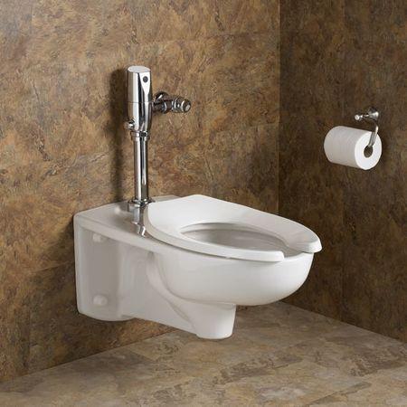 American Standard Automatic Flush Valve Toilet 1 28 Gpf