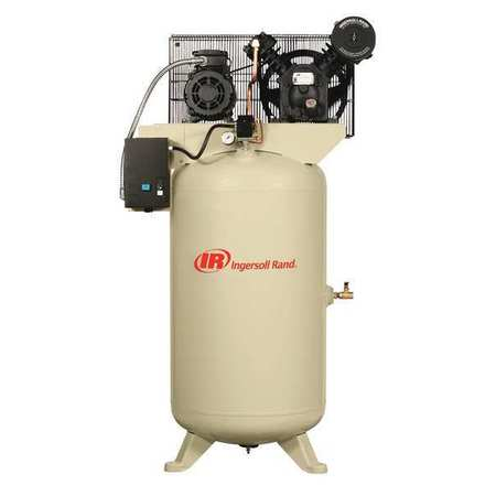 Electric Air Compressor, 2 Stage, 24 cfm