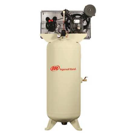 Electric Air Compressor, 2 Stage, 5 HP