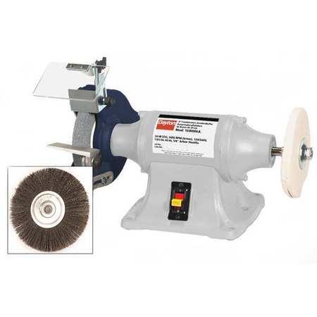 wiring diagram for a bench grinder dayton bench grinder buffer 8 in 16w006 zoro com dayton bench grinder wiring