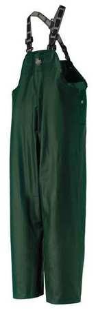 Rain Bib Overall, Green, 2XL