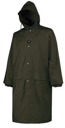 Raincoat, Dark Green, M