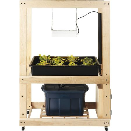 Hydroponics Growing Center,52x28x78 Hydroponic Kit Indoor Systems