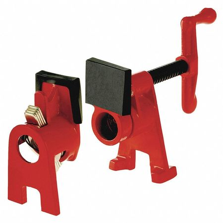 Pipe Clamp,  Crank H-Style