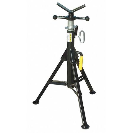 Pipe Jack Stands >> Sumner Hi Fold A Jack V Head Pipe Stand 24 In 781300 Zoro Com