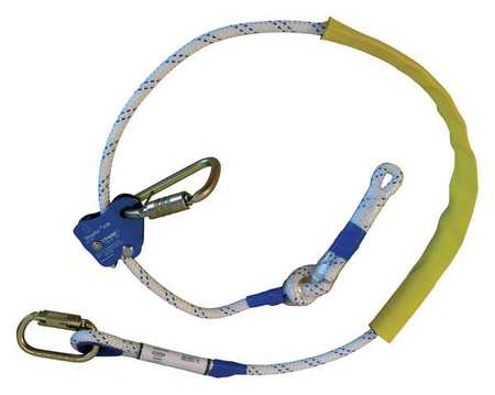 Weight Capacity White Positioning Lanyard Safety & Protective Gear Fallstop Csp06c1* 6 Ft.l 310 Lb