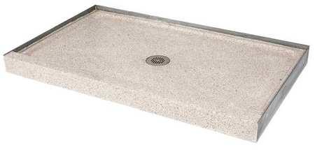 terrazzo-ware square shower base, connection 2