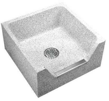 Mop Sink, Palomino Tan, Bowl Size 20 X 20 X 4D
