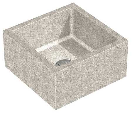 terrazzo mop sinks, floor mount w/o faucet by terrazzo-ware | zoro.com - Terrazzo Kitchen Sinks