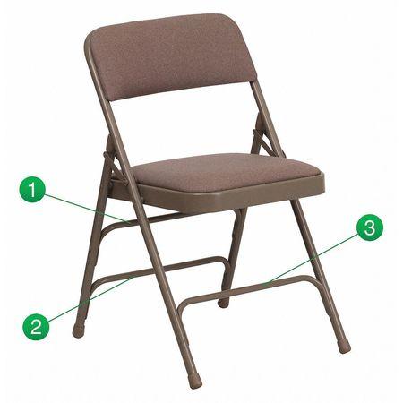 Fabric Folding Chair,Beige
