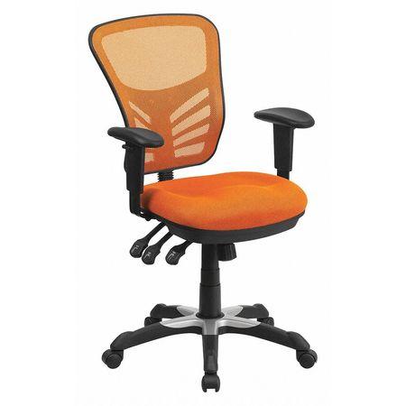 Mid-Back Exec Chair,Orange
