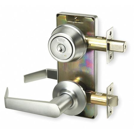 Lever Lockset, Mechanical, Entrance