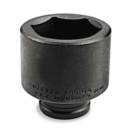 Impact Socket, 3/4 In Dr, 2 In, 6 pt