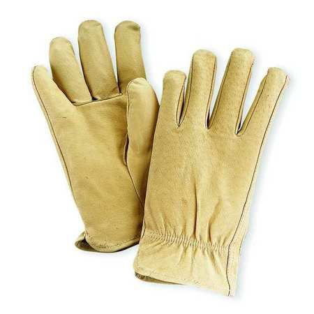 Leather Drivers Gloves, Pigskin, M, PR