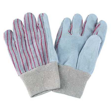 Leather Gloves, Red Striped, S, PR