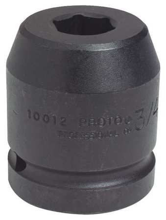 Impact Socket, 1 In Dr, 3-1/2 In, 6 pt