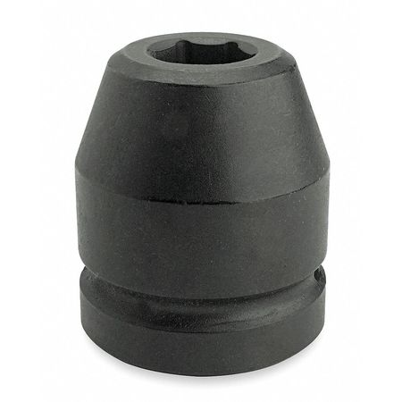 Impact Socket, 1 In Dr, 3-3/8 In, 6 pt