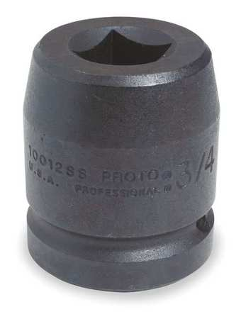 Impact Socket, 1 In Dr, 1 In, 4 pt