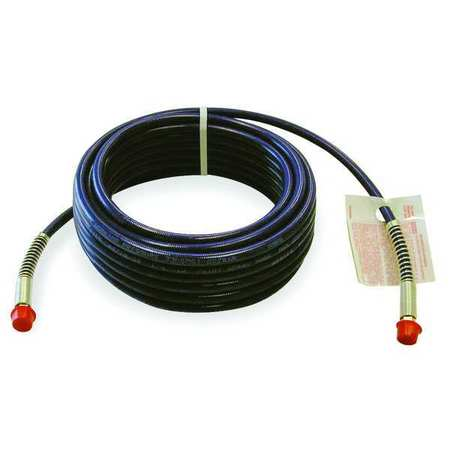 "1/4"" ID x 25 ft Nylon Coupled Paint Spray Hose BL"