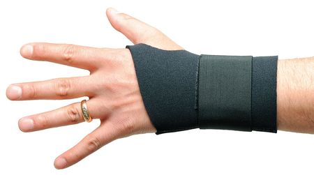 Wrist Support, L, Ambidextrous, Black