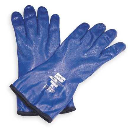 """Chemical Resistant Glove, 12"""" L, Sz 9, PR"""