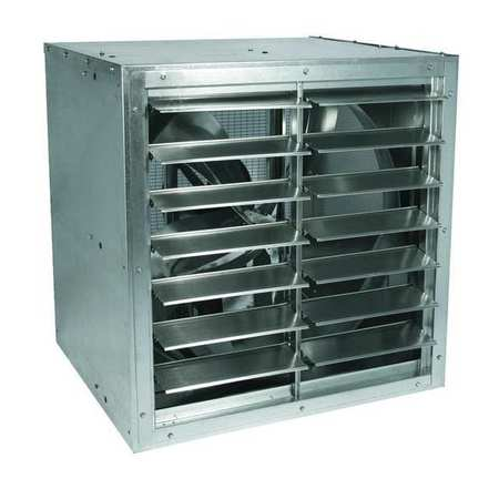 Cabinet Exhaust Fan, 30 In, 208-230/460 V