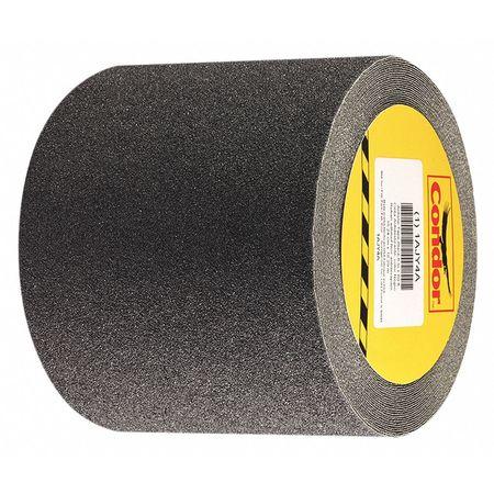 Anti-Slip Tape, Flat Black, 6 in x 60 ft.