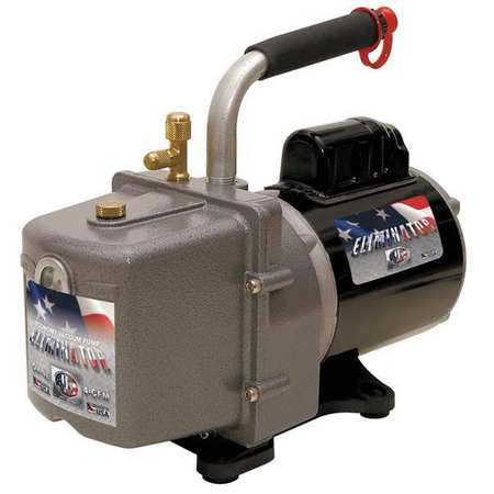 Refrig Evacuation Pump, 4.0 cfm, 6 ft.