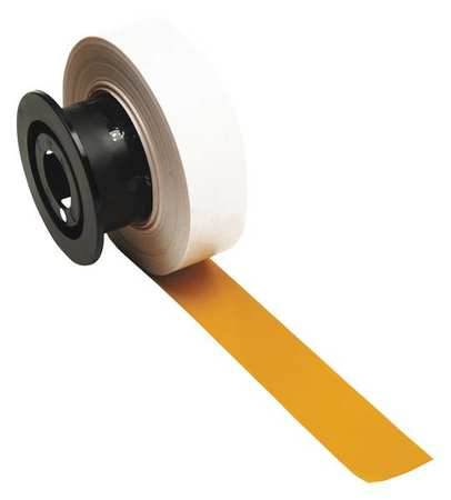 Tape, Yellow, 110 ft. L, 1-1/8 In. W