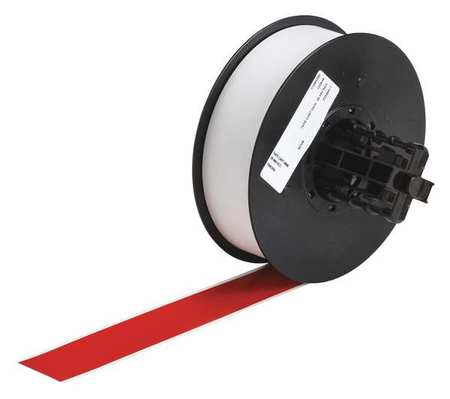 Tape, Red, 110 ft. L, 1-1/8 In. W