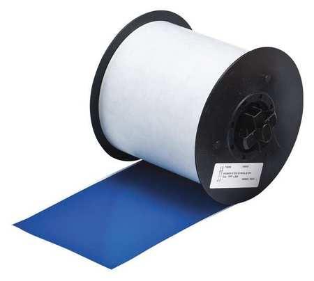 Label Tape Cartridge, Blue, 100ft L, 4In W
