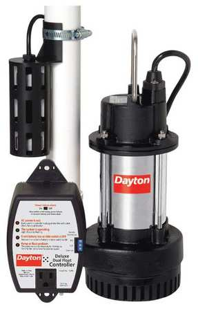 "1/2 HP 2"" Submersible Sump Pump 115V Dual Float"