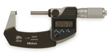 Electronic Digital Micrometer, 1 to 2 In