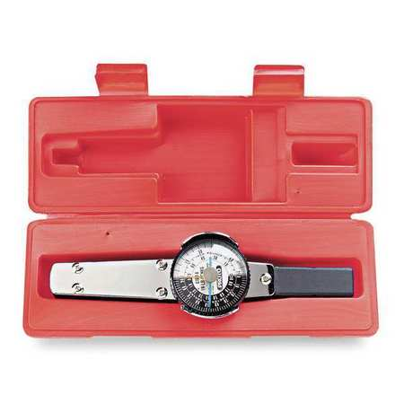Dial Torque Wrench, Drive Size 1/2 in.