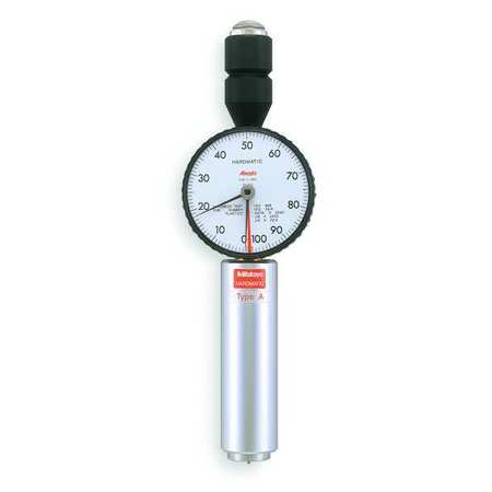 Analog Durometer, Shore A, 0.71 In Dia
