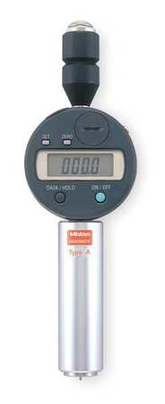 Digital Durometer, Shore D, 0.71 In Dia