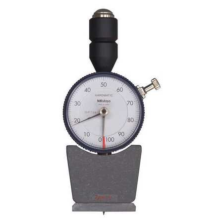 Analog Durometer, Shore D, 1.73 x 0.71 In