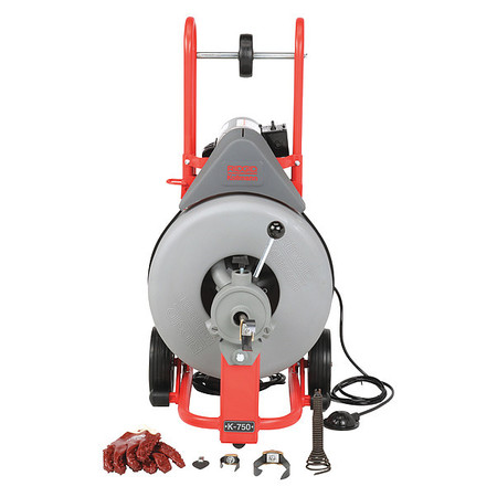Drain Cleaning Machine,  3/4x100