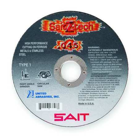"CutOff Wheel, Z-Tech, 6""x.045""x7/8"""