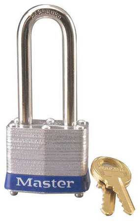 "Lockout Padlock, KD, Blue, 1-1/4""H"