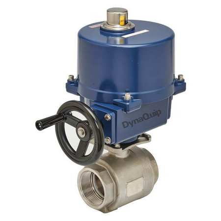 "3"" FNPT Stainless Steel Electronic Ball Valve 2-Way"