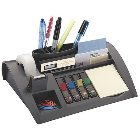 Desk Organizer, 2 3/4Hx10 1/4Wx6 3/4D In