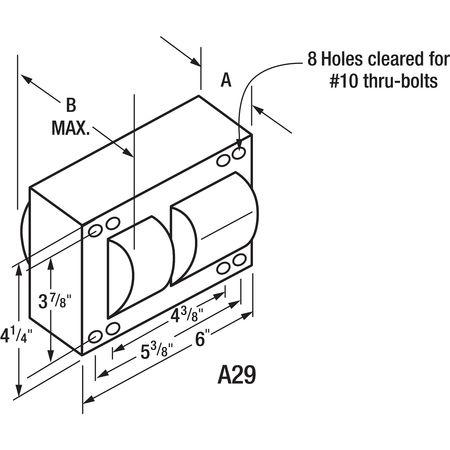 PHILIPS ADVANCE 1000 W,  1 Lamp HID Ballast Kit