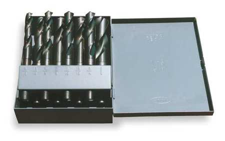 Silver/Deming Set, 8 PC, HSS, 118 Deg