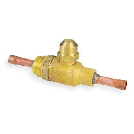 "Refrig Ball Valve, 3/8"" ODF, 500 psi"