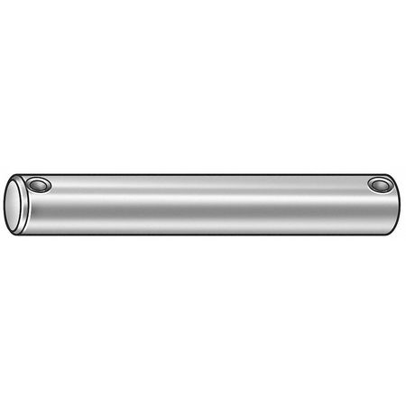 Clevis Pin, Std, Steel, Plain, 1.125x6 In
