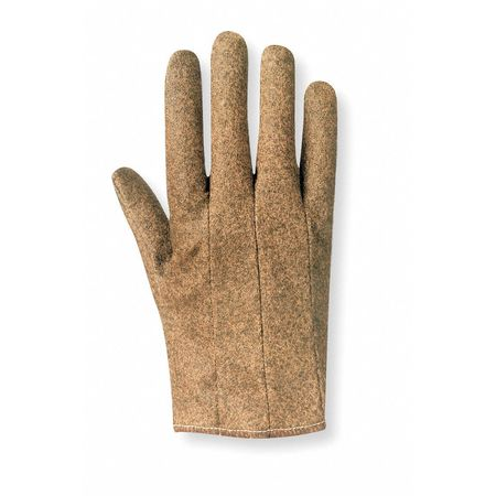Coated Gloves, S, Vinyl, Tan, PR