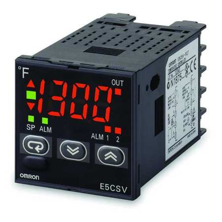 1/16 DIN Temp Controller, On/Off Or PID
