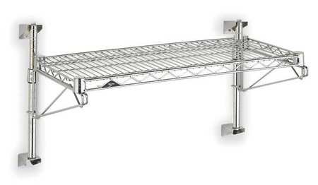 Industrial Wall Shelving, 14 In. H